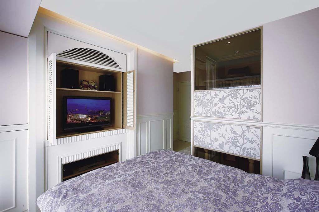 混搭风格别墅经济型100平米卧室电视柜海外家居