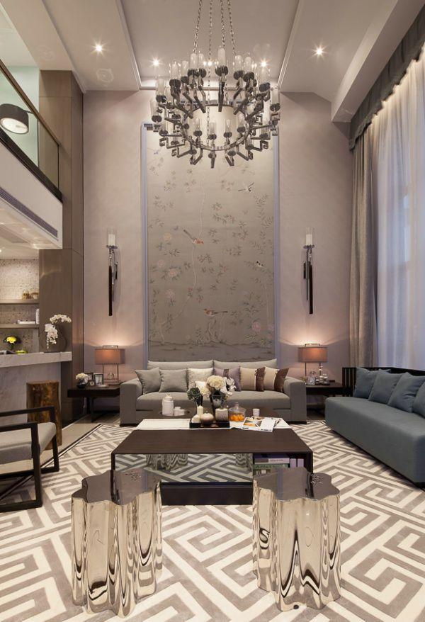 新古典风格别墅室内装饰欣赏