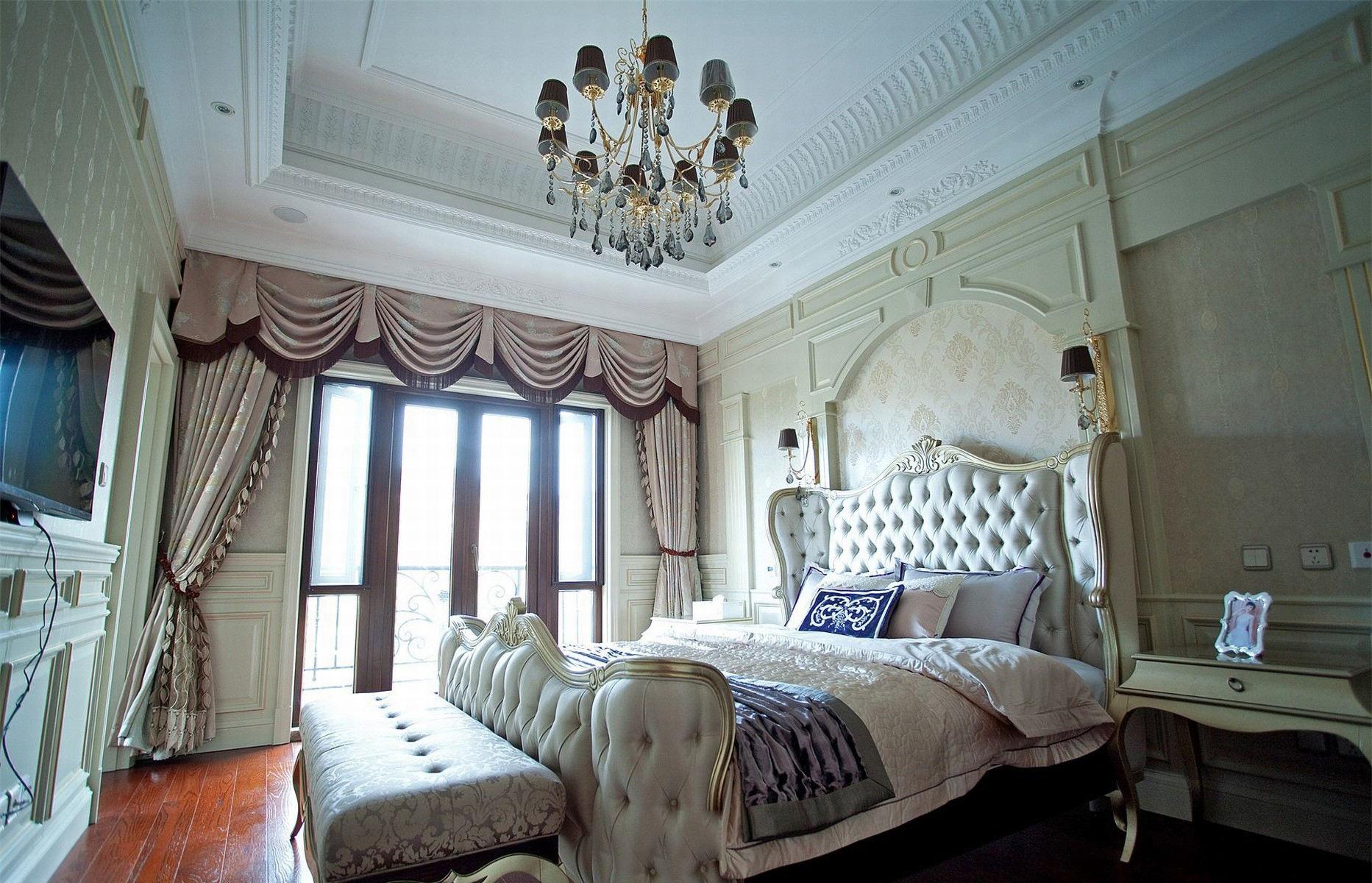 精致奢华欧式风卧室装饰
