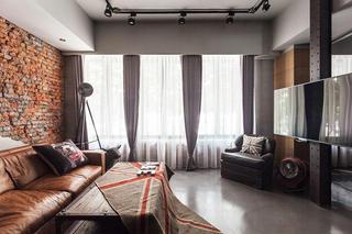 复古美式客厅家装设计