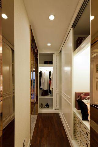 新古典风格 家居衣帽间衣柜设计