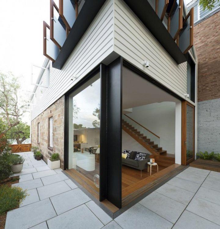 美式风格两层别墅外观效果图