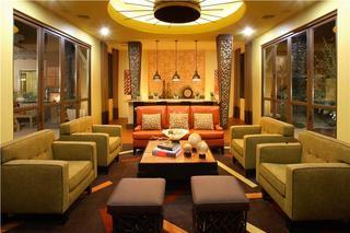 奢华古典异域风混搭客厅效果图