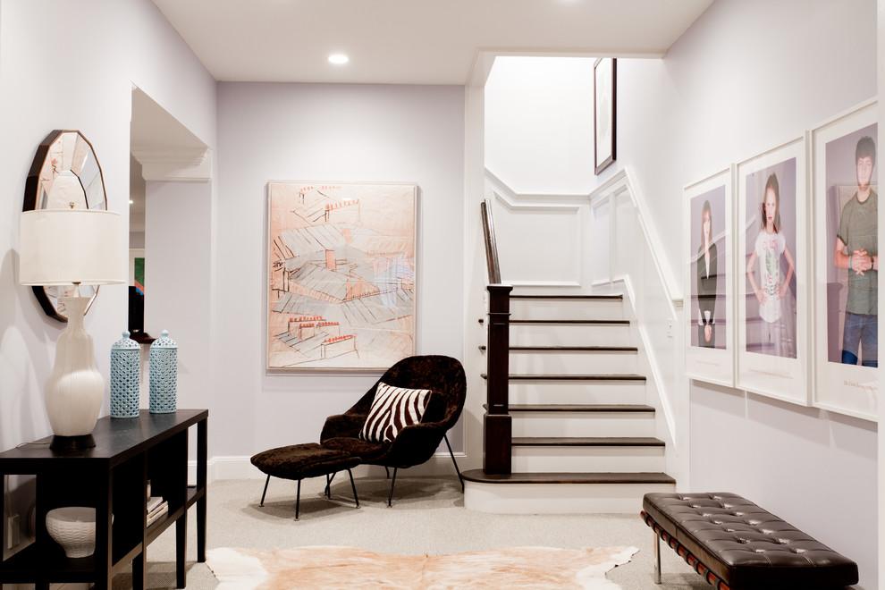 美式风格复式楼梯设计图