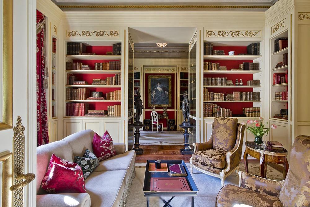古典奢华欧式别墅 会客厅效果图