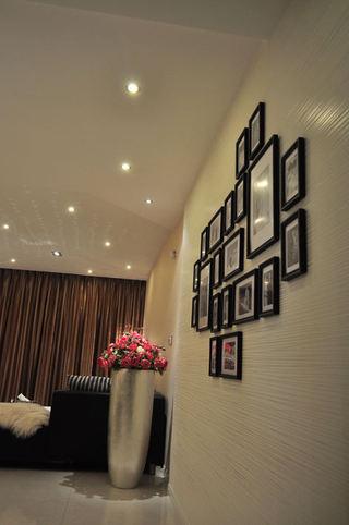 简约风家居相片墙效果图欣赏