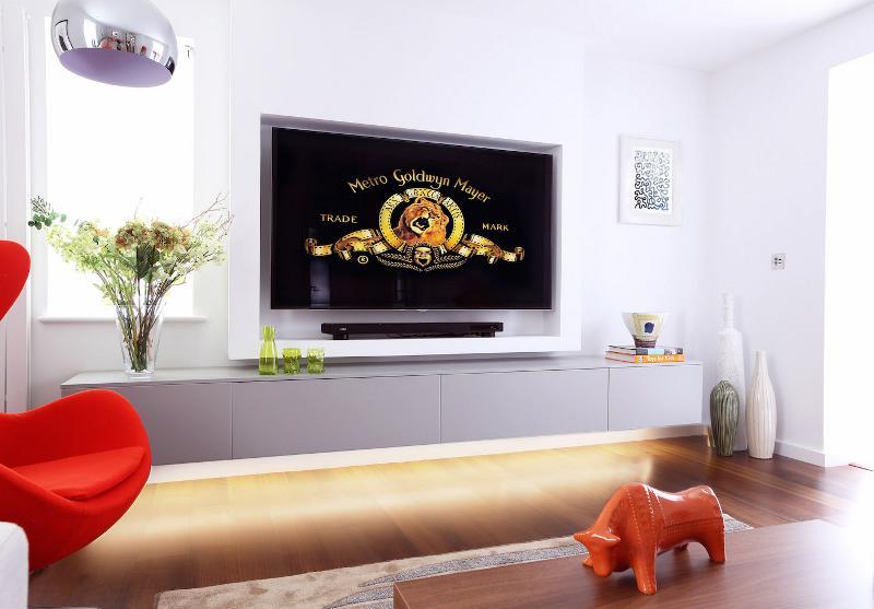 简洁北欧电视柜欣赏