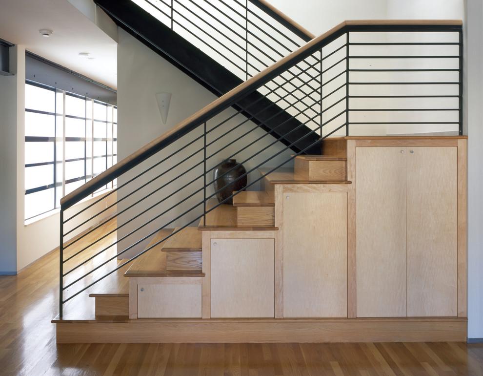 时尚现代家装楼梯装修效果图