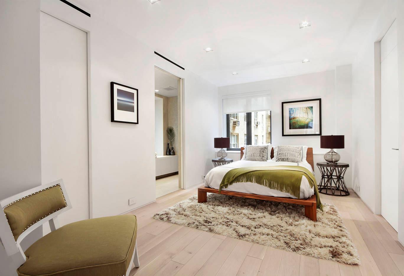 简约宜家卧室实木床设计