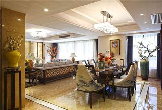 华丽古典中式风格三居装潢案例