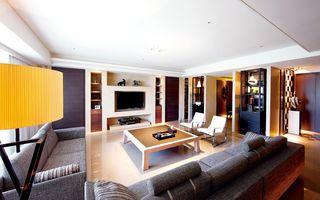 现代日式风140平公寓装修图