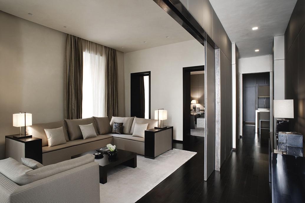 沉稳现代125平三室两厅装修图