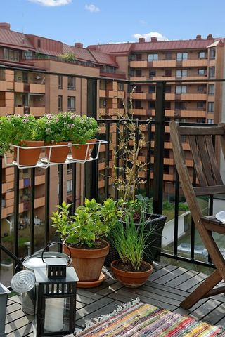 休闲美式家装阳台设计