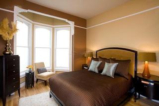 美式复古卧室装饰效果图