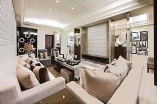 奢华现代新古典风情 大四居公寓效果图