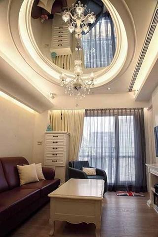 华丽精美简欧式 客厅吊顶效果图