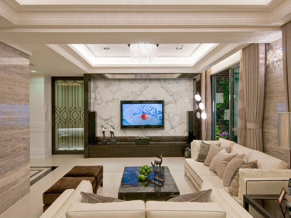 精致美式客厅装饰效果图大全