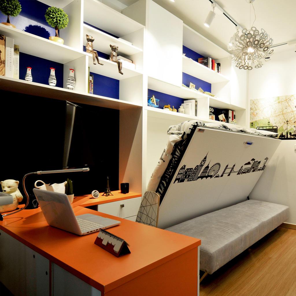 家居美图 现代小户型创意收纳床设计