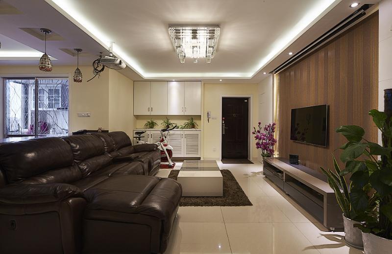 休闲美式客厅装饰大全设计