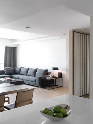 现代风格78平二居装饰案例