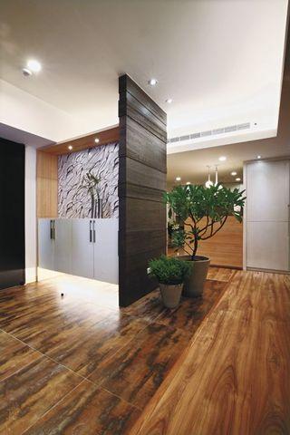 现代自然风88平公寓室内装饰