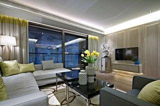 豪华现代四室两厅装潢效果图