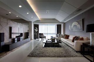 148平低奢现代风 大公寓混搭设计