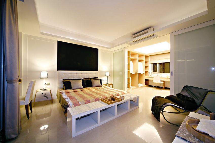个性现代风主卧室内设计效果图