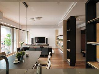 58平现代宜家日式公寓效果图