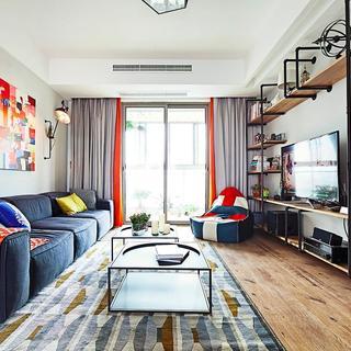 68平现代文艺范二居家装设计