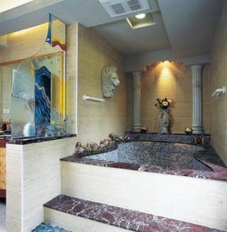 欧式风格别墅室内浴池设计