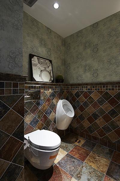 乡村美式马赛克卫生间设计