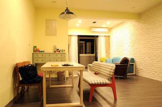 北欧66平小户型室内装修图