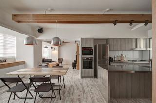 68平宜家公寓 简单自然的原木居家