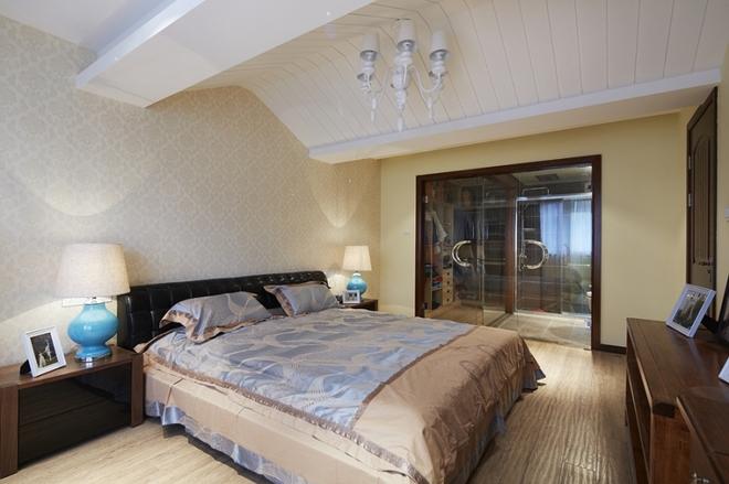 创意简约欧式卧室吊顶效果图