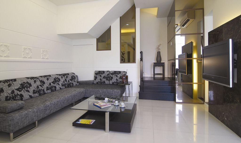 简约装修客厅沙发效果图