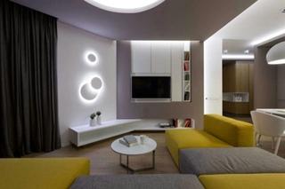 创意现代北欧风格 亮彩小户型家居设计