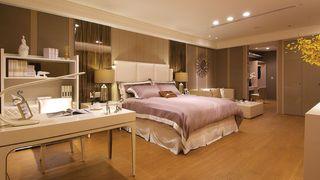 优雅现代美式 卧室带书房装饰大全