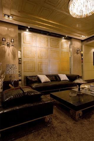 118平摩登复古混搭风三居室装饰