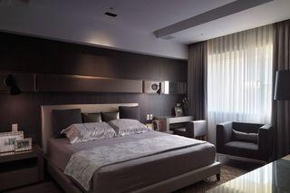 120平米现代风格卧室装修效果图