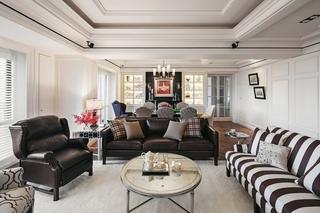 复古波普风混搭四居公寓设计