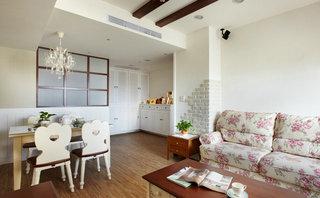 日式田园风家居布艺沙发设计
