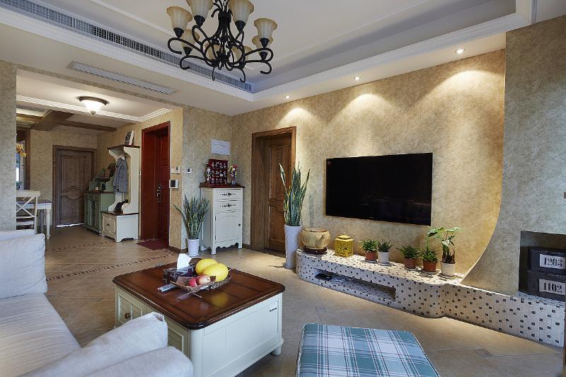 美式乡村风公寓室内装饰图