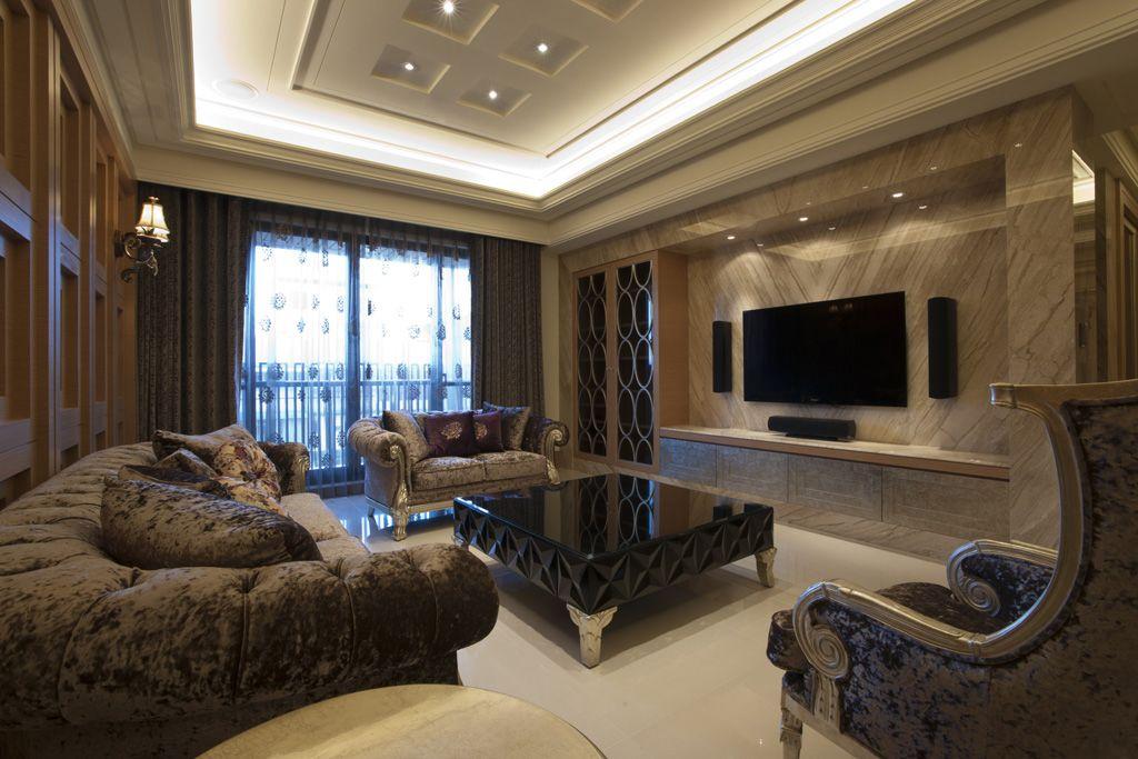 古典欧式风格三室两厅装修图