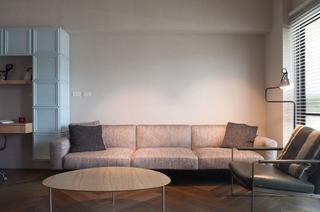简美式客厅布艺沙发效果图