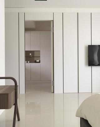 现代日式家装过道效果图