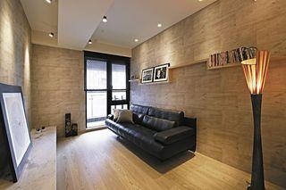 日式轻工业混搭 原木公寓装饰欣赏
