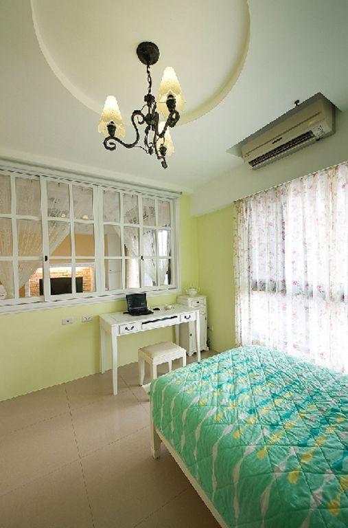 清新简约卧室装饰效果图