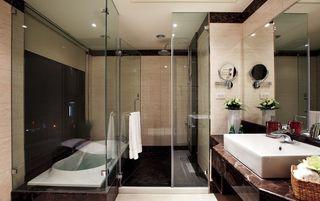 奢华现代风 整体淋浴房隔断效果图
