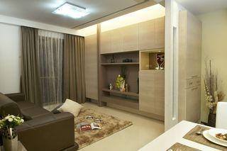 56平米一居室宜家装修设计